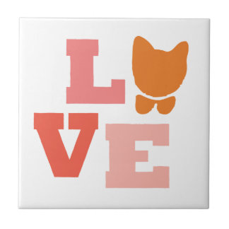Cat Lover Gifts Tile