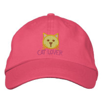 CAT LOVER Girls Cap