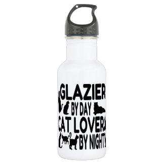 Cat Lover Glazier Water Bottle