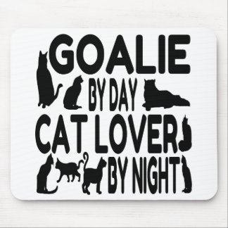 Cat Lover Goalie Mouse Pad