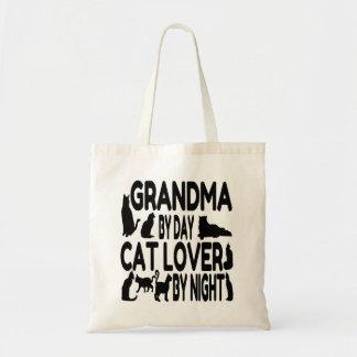 Cat Lover Grandma Canvas Bags