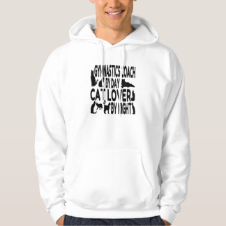 Cat Lover Gymnastics Coach Hooded Pullovers