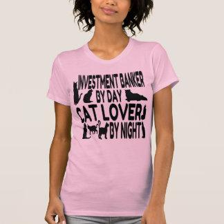 Cat Lover Investment Banker T-Shirt