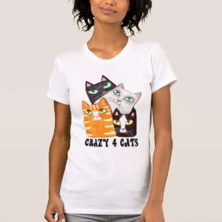 Cat Lover Lady's Nightie T-shirts