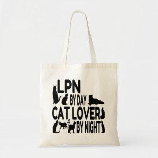 Cat Lover LPN Tote Bag