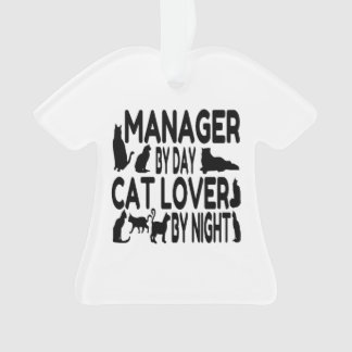Cat Lover Manager Ornament