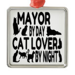 Cat Lover Mayor Ornament