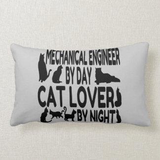 Cat Lover Mechanical Engineer Lumbar Pillow
