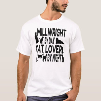 Cat Lover Millwright T-Shirt