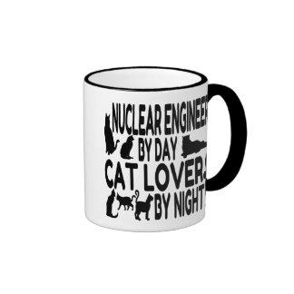 Cat Lover Nuclear Engineer Mug