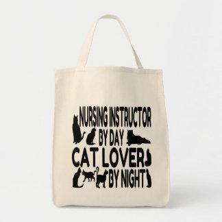 Cat Lover Nursing Instructor Tote Bag