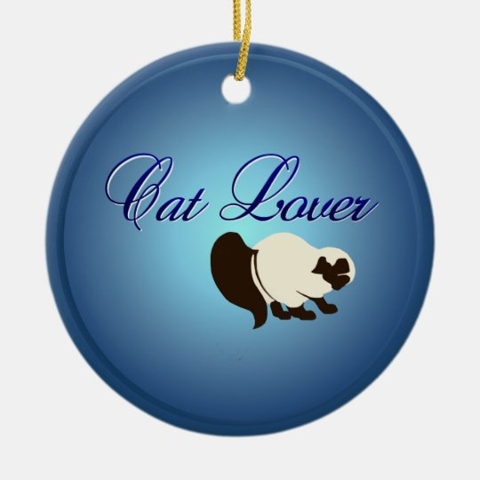 Cat Lover Ornaments