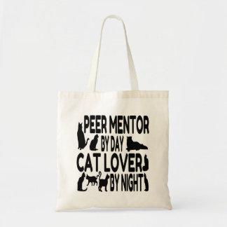 Cat Lover Peer Mentor Tote Bags
