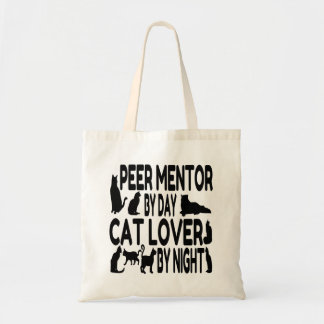 Cat Lover Peer Mentor Tote Bag