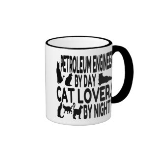 Cat Lover Petroleum Engineer Coffee Mug