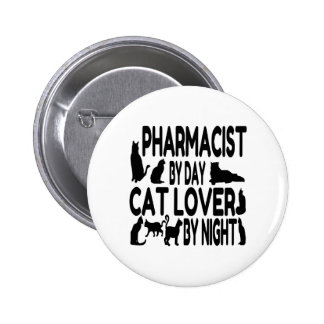 Cat Lover Pharmacist Pin