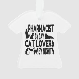 Cat Lover Pharmacist Ornament