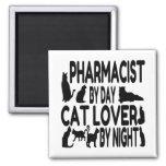 Cat Lover Pharmacist Refrigerator Magnet