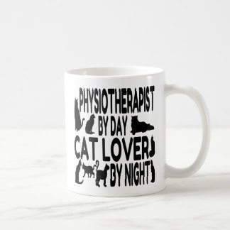 Cat Lover Physiotherapist Coffee Mug
