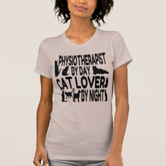 Cat Lover Physiotherapist T-Shirt