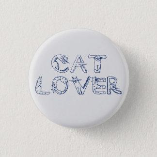 Cat Lover Pin Badge