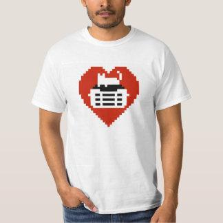 Cat Lover Pixel T-Shirt