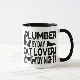 Cat Lover Plumber Mug