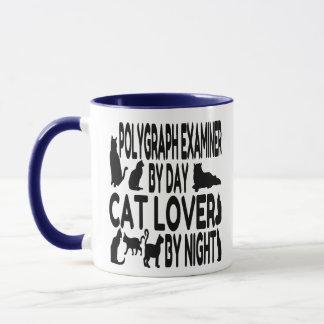 Cat Lover Polygraph Examiner Mug