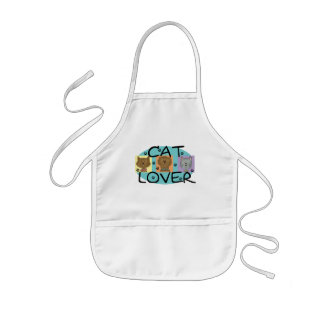 Cat Lover Portraits T-shirts and Gifts Aprons