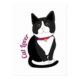 Cat Lover Post Card