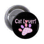 Cat Lover Products Buttons