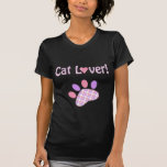 Cat Lover Products Tee Shirt