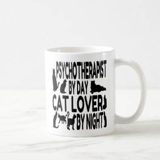 Cat Lover Psychotherapist Coffee Mug
