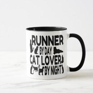 Cat Lover Runner Mug