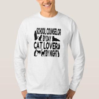 Cat Lover School Counselor T-Shirt
