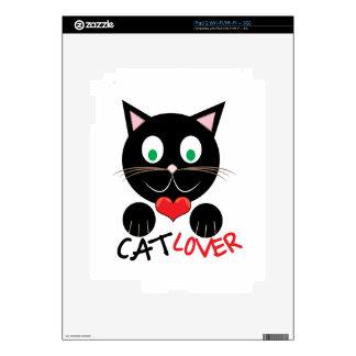 Cat Lover iPad 2 Decals