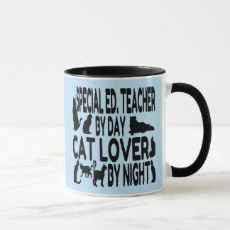 Cat Lover Special Education Teacher Mug