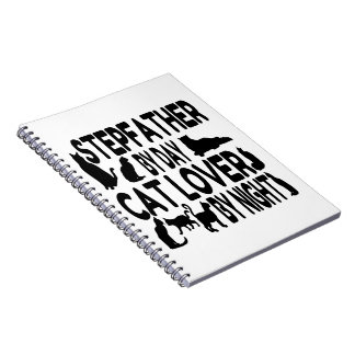 Cat Lover Stepfather Notebook