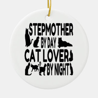 Cat Lover Stepmother Ceramic Ornament