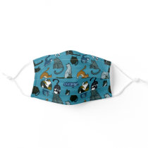 Cat Lover Teal Adult Cloth Face Mask