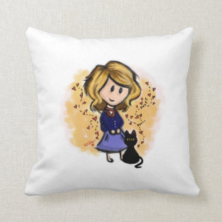 Cat-Lover - They Make things Purrfect Throw Pillow