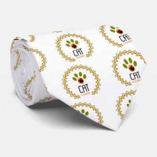 cat lover tie