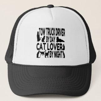 Cat Lover Tow Truck Driver Trucker Hat