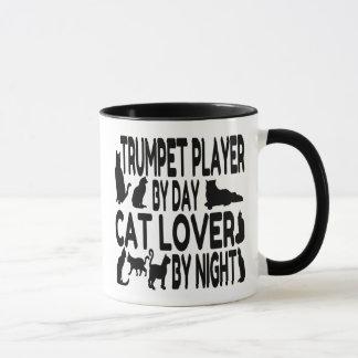 Cat Lover Trumpet Player Mug