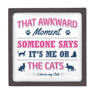 Cat lover tshirts gift box