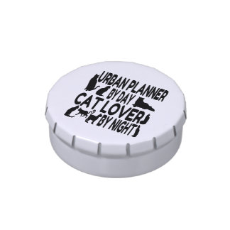 Cat Lover Urban Planner Jelly Belly Tins