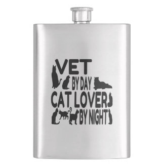Cat Lover Vet Flask