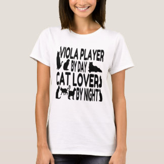 Cat Lover Viola Player T-Shirt