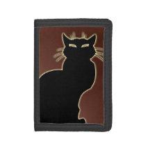 Cat Lover Wallet Black Cat Wallet Custom Cat Gifts
