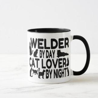 Cat Lover Welder Mug